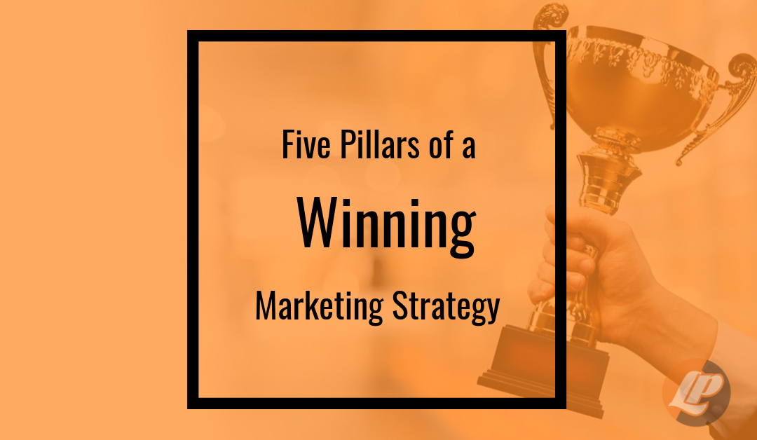 5 pillars of a winning marketing strategy