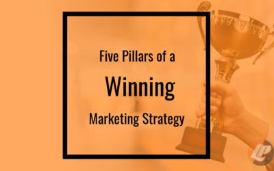 Five Pillars of a Winning Marketing Strategy